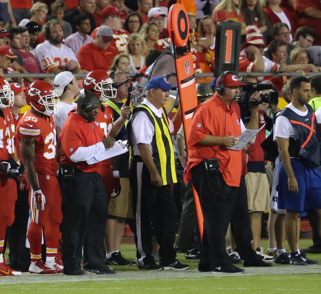 finest selection 91368 f97eb The Chiefs Fall To The Steelers 17-7 In Their 2nd Preseason ...